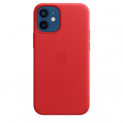 Apple iPhone 12 mini Leather Case with MagSafe - (PRODUCT)RED (MHK73)