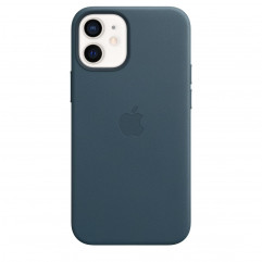 Apple iPhone 12 mini Leather Case with MagSafe - Baltic Blue (MHK83)
