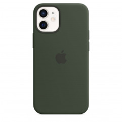 Apple iPhone 12 mini Silicone Case with MagSafe - Cyprus Green (MHKR3)