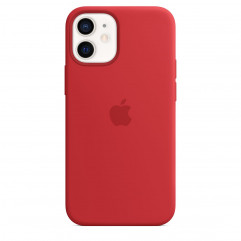 Apple iPhone 12 mini Silicone Case with MagSafe - Red (MHKW3)