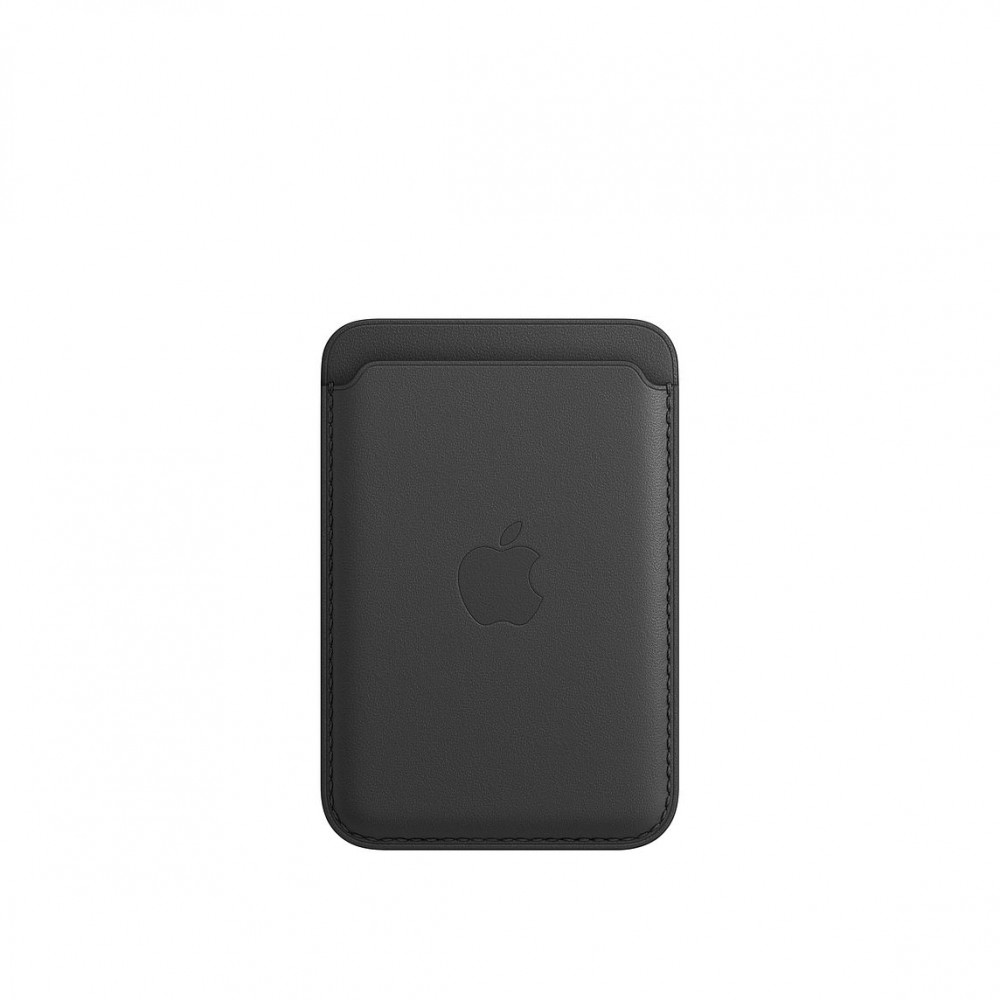 iPhone Leather Wallet with MagSafe Lux Copy - Black