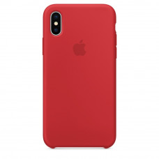 Apple iPhone XS Max Silicone Case LUX COPY - PRODUCT RED