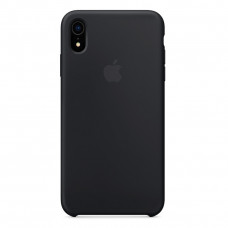 Apple iPhone XR Silicone Case LUX COPY - Black