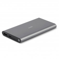 Внешний аккумулятор Moshi IonSlim 10K USB-C and USB Portable Battery Titanium Gray (99MO022145)