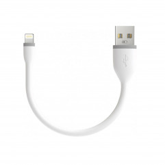 """Satechi Flexible Charging Lightning Cable White 6"""" (0.15 m) (ST-FCL6W)"""