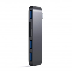 Satechi Type-C USB 3.0 3-in-1 Combo Hub Space Gray (ST-TCUHM)