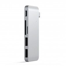Satechi Type-C USB 3.0 Passthrough Hub Silver (ST-TCUPS)