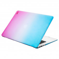 "Чехол-накладка LAUT HUEX для MacBook Air 13"" (2018-2020) Pink/Blue (LAUT_MA13_HX_PBL)"