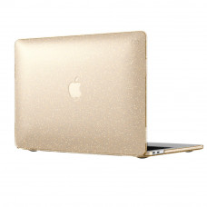"""Чехол-накладка Speck for Macbook Air 13"""" (2018-2019) Smartshell - Clear With Gold Glitter (SP-86370-5636)"""