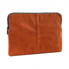 """DECODED Leather Slim Sleeve with Zipper for MacBook 12"""" (2015-2017) Brown (D4SS12BN)"""