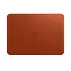 """Apple Leather Sleeve for 12"""" MacBook (2015-2017) - Saddle Brown (MQG12)"""