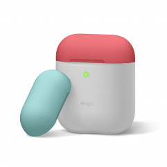 Elago Duo Case Nightglow Blue / Italian Rose / Coral Blue for Airpods (EAPDO-LUBL-IROCBL)