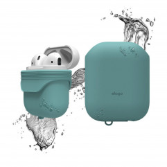 Elago Waterproof Case Coral Blue for Airpods (EAPWF-BA-CBL)