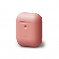 Elago A2 Silicone Case Peach for Airpods with Wireless Charging Case (EAP2SC-PE)