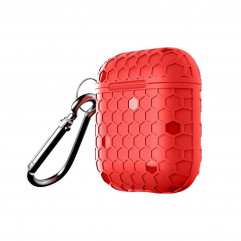 Чохол WIWU Football Protect Case with Belt Red for Apple AirPods