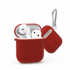 Чехол WIWU iShell 360° TPU Silicon Protect Case for Apple AirPods (Red)