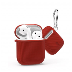 Чохол WIWU iShell 360 ° TPU Silicon Protect Case for Apple AirPods (Red)