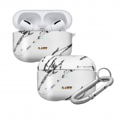 Чохол LAUT HUEX ELEMENTS for AirPods Pro Marble White (L_APP_HXE_MW)