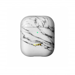 Чохол LAUT HUEX ELEMENTS for AirPods Marble White (L_AP_HXE_MW)