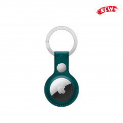 Apple AirTag Leather Key Ring Forest Green (MM073)