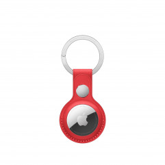 Apple AirTag Leather Key Ring (PRODUCT)RED (MK103)