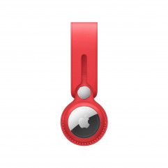 Apple AirTag Leather Loop (PRODUCT)RED (MK0V3)