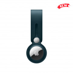 Apple AirTag Leather Loop Baltic Blue (MM043)