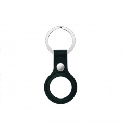 Apple AirTag Leather Key Ring Green Lux Copy
