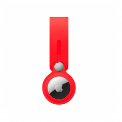 ArmorStandart для AirTag Silicone Loop with Button Red (ARM58925)