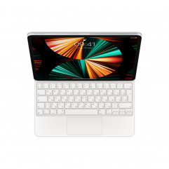 Magic Keyboard for iPad Pro 12.9-inch (5th generation) - White (MJQL3RS/A)