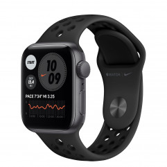 Apple Watch SE Nike GPS 40mm Space Gray Aluminum Case with Anthracite/Black Nike Sport Band (MYYF2)