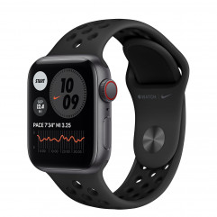 Apple Watch SE Nike GPS + Cellular 40mm Space Gray Aluminum Case with Anthracite/Black Nike Sport Band (MYYU2, MG013)