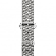 White Check Woven Nylon Band для Apple Watch 42/44mm