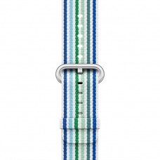 Blue Stripe Woven Nylon Band для Apple Watch 38/40mm