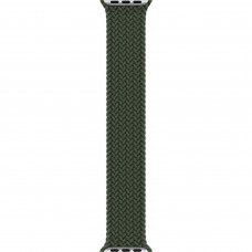 Apple Inverness Green Braided Solo Loop - Size 4 для Apple Watch 38/40mm (MY6N2)