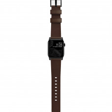Nomad Modern Strap Black/Brown for Apple Watch 42/44mm (NM1A4RBM00)