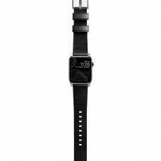 Nomad Modern Strap Silver/Black for Apple Watch 42/44mm (NM1A41SM00)
