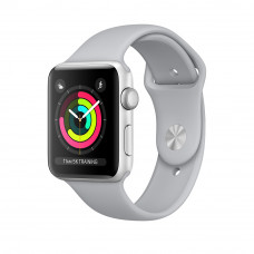 Apple Watch Series 3 (GPS) 42mm Silver Aluminum Case with Fog Sport Band (MQL02)