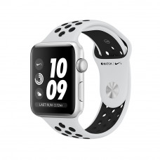 Apple Watch Series 3 Nike+ (GPS) 38mm Silver Aluminum Case with Pure Platinum/Black Nike Sport Band (MQKX2)