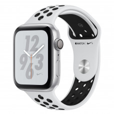 Apple Watch Series 4 Nike+ (GPS) 44mm Silver Aluminium Case with Pure Platinum/Black Nike Sport Band (MU6K2)