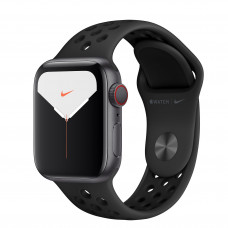 Apple Watch Series 5 Nike GPS + Cellular 40mm Space Gray Aluminium Case with Anthracite/Black Nike Sport Band (MX382, MX3D2)
