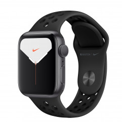 Apple Watch Series 5 Nike GPS 40mm Space Gray Aluminium Case with Anthracite/Black Nike Sport Band (MX3T2)