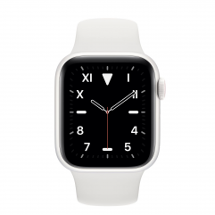 Apple Watch Edition Series 5 GPS + Cellular 40mm White Ceramic Case with White Sport Band (MTXP5)
