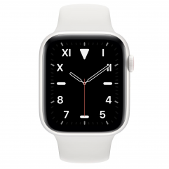 Apple Watch Edition Series 5 GPS + Cellular 44mm White Ceramic Case with White Sport Band (MWR72, MWQU2)