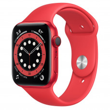 Apple Watch Series 6 GPS + Cellular 44mm (PRODUCT)RED Aluminum Case with (PRODUCT)RED Sport Band (M07K3, M09C3)