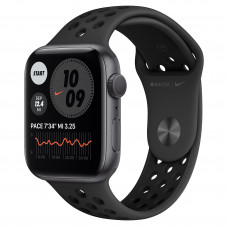 Apple Watch Series 6 Nike GPS 44mm Space Gray Aluminum Case with Anthracite/Black Nike Sport Band (MG173)