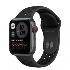 Apple Watch Series 6 Nike GPS + Cellular 40mm Space Gray Aluminum Case with Anthracite/Black Nike Sport Band (M06L3, M07E3)