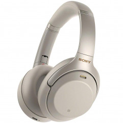 Sony Noise Cancelling Headphones Silver (WH-1000XM3G)