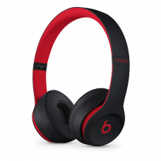 Beats Solo3 Wireless On-Ear Headphones - The Beats Decade Collection - Defiant Black-Red (MRQC2)