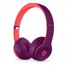 Beats Solo3 Wireless On-Ear Headphones - Beats Pop Collection - Pop Magenta (MRRG2)